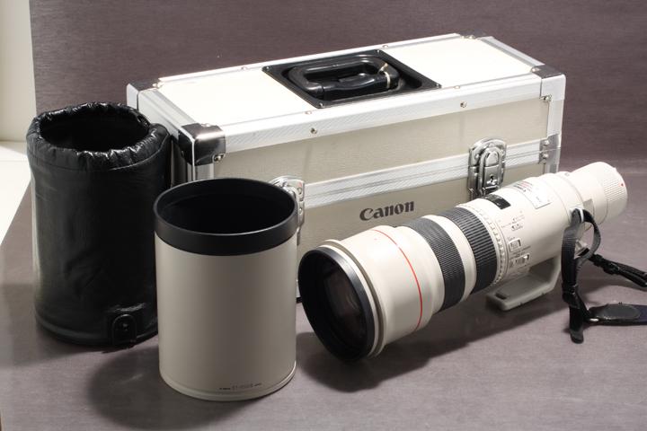 ★Canon キヤノン EF 500mm f4.5 L ULTRASONIC 望遠レンズ ケース付?