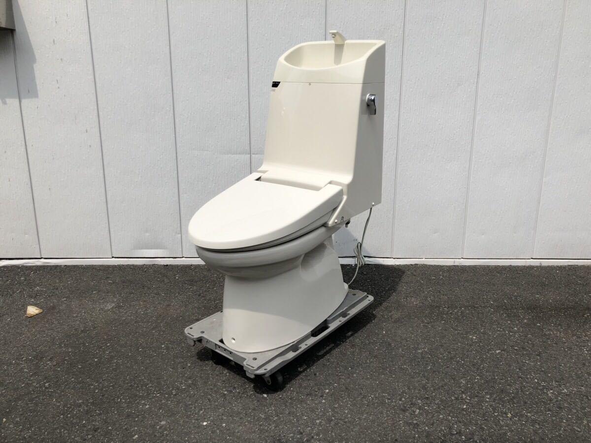 A080711 【展示未使用】 TOTO ベーシアVX シャワートイレ 一体型便器 直接引取限定 リモコン付