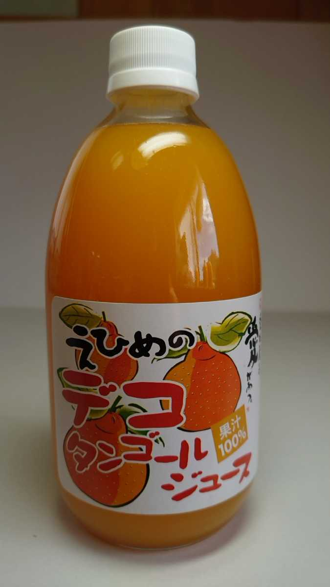 愛媛県産ストレート果汁(みかん、しらぬい、きよみ、あまなつ)100%4種類12本入り500㎜詰め合せみかんジュース_画像3