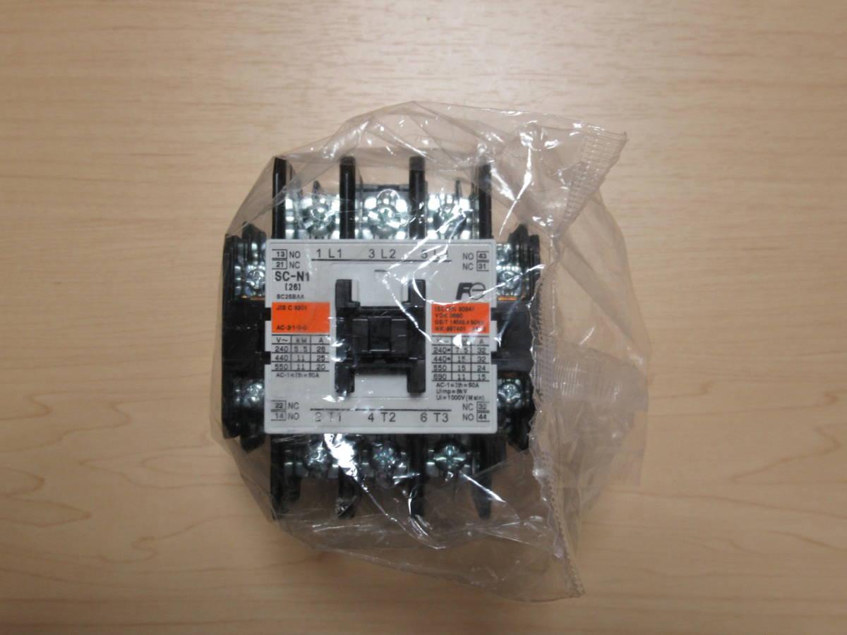 富士電機 電磁接触器 SC-N1 AC100V 2a2b_画像1