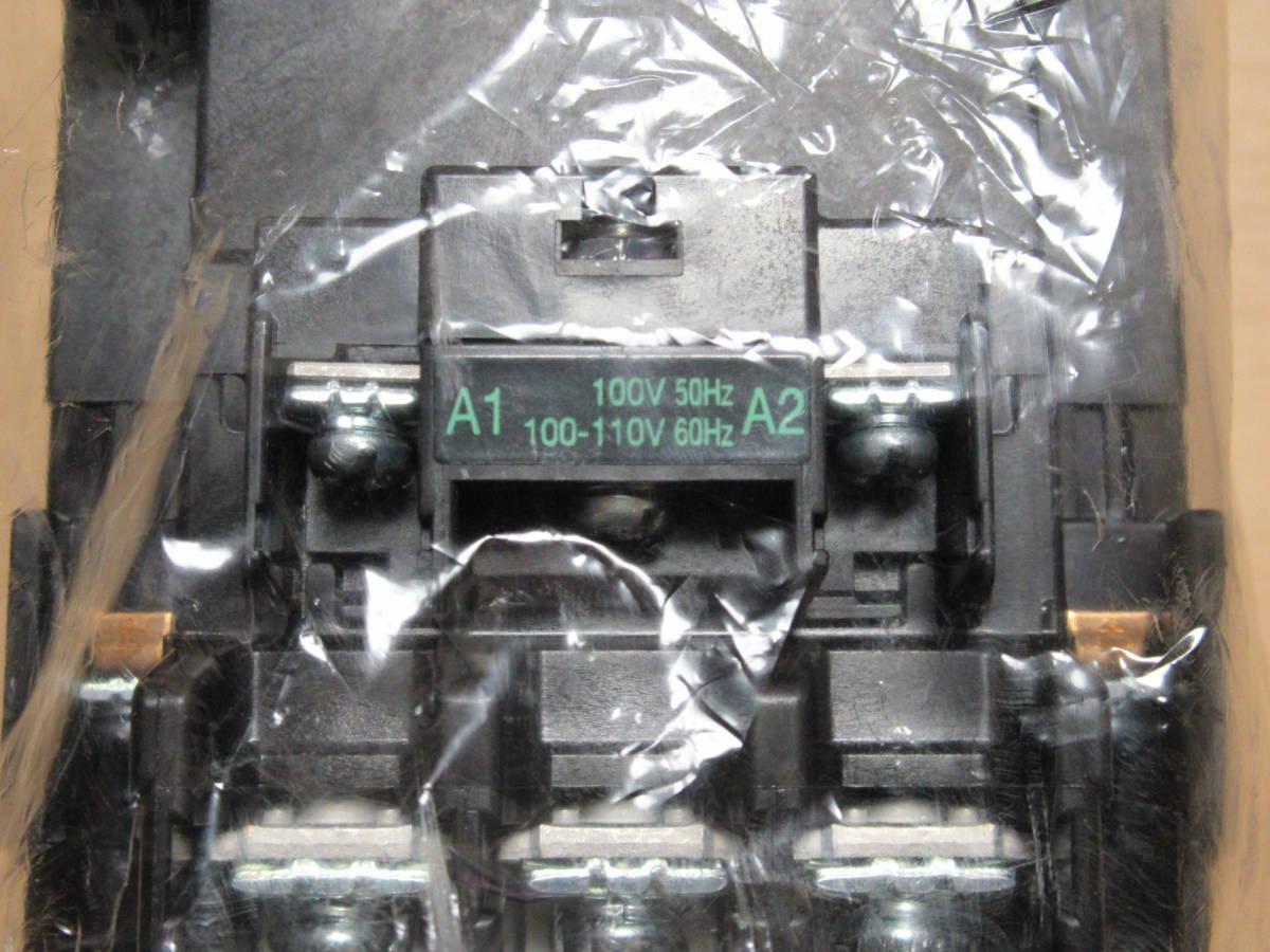 富士電機 電磁接触器 SC-N1 AC100V 2a2b_画像3