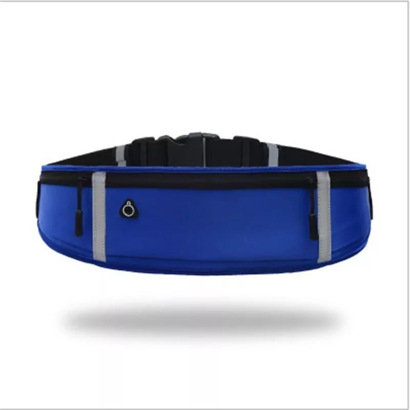 【新品】 ウエストポーチ ブルー ランニングポーチ ウエストバッグ