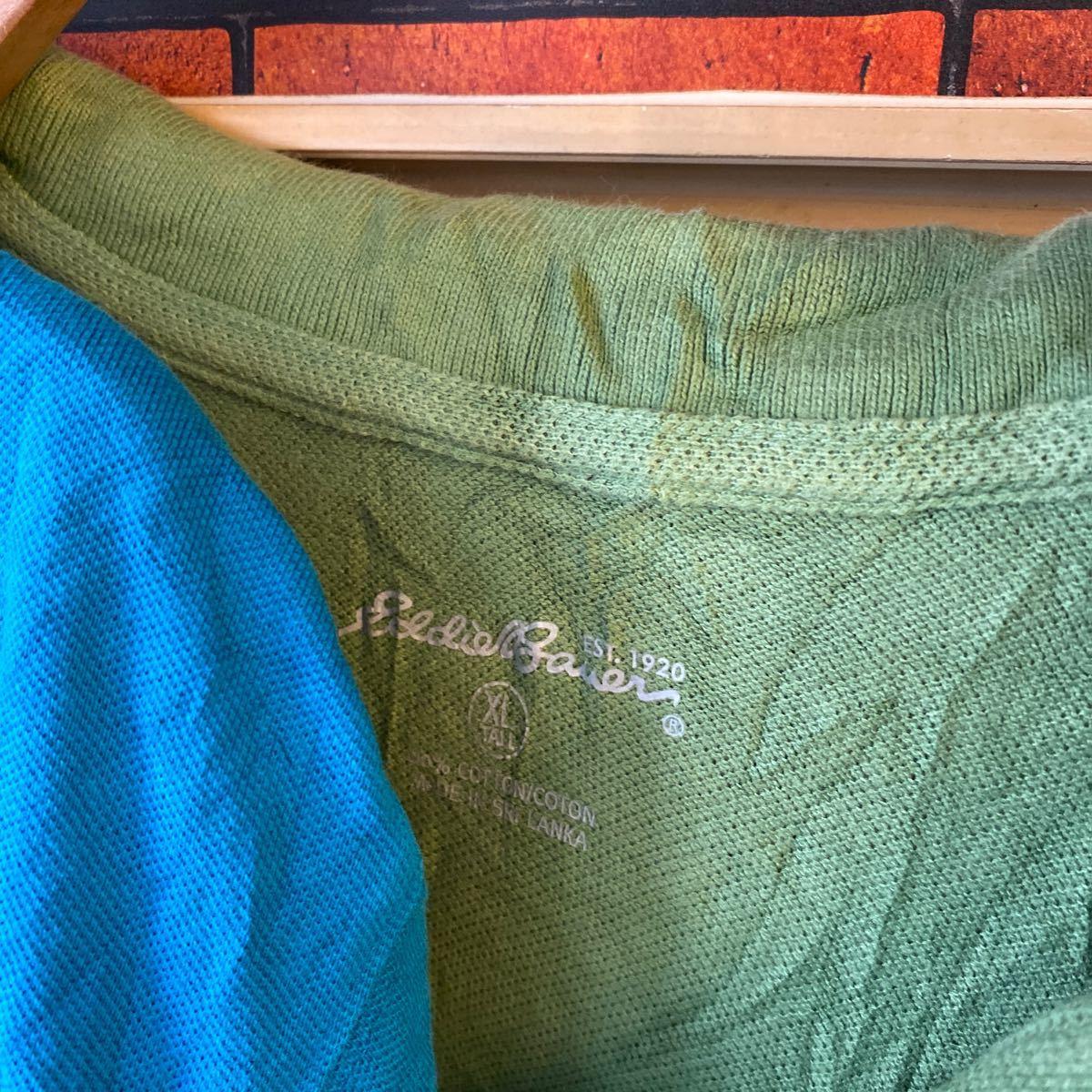 1円スタート ポロシャツ クールビズ まとめ売り 大量セット 6枚セット ワーク スタッフ アメリカ古着 XL _画像8