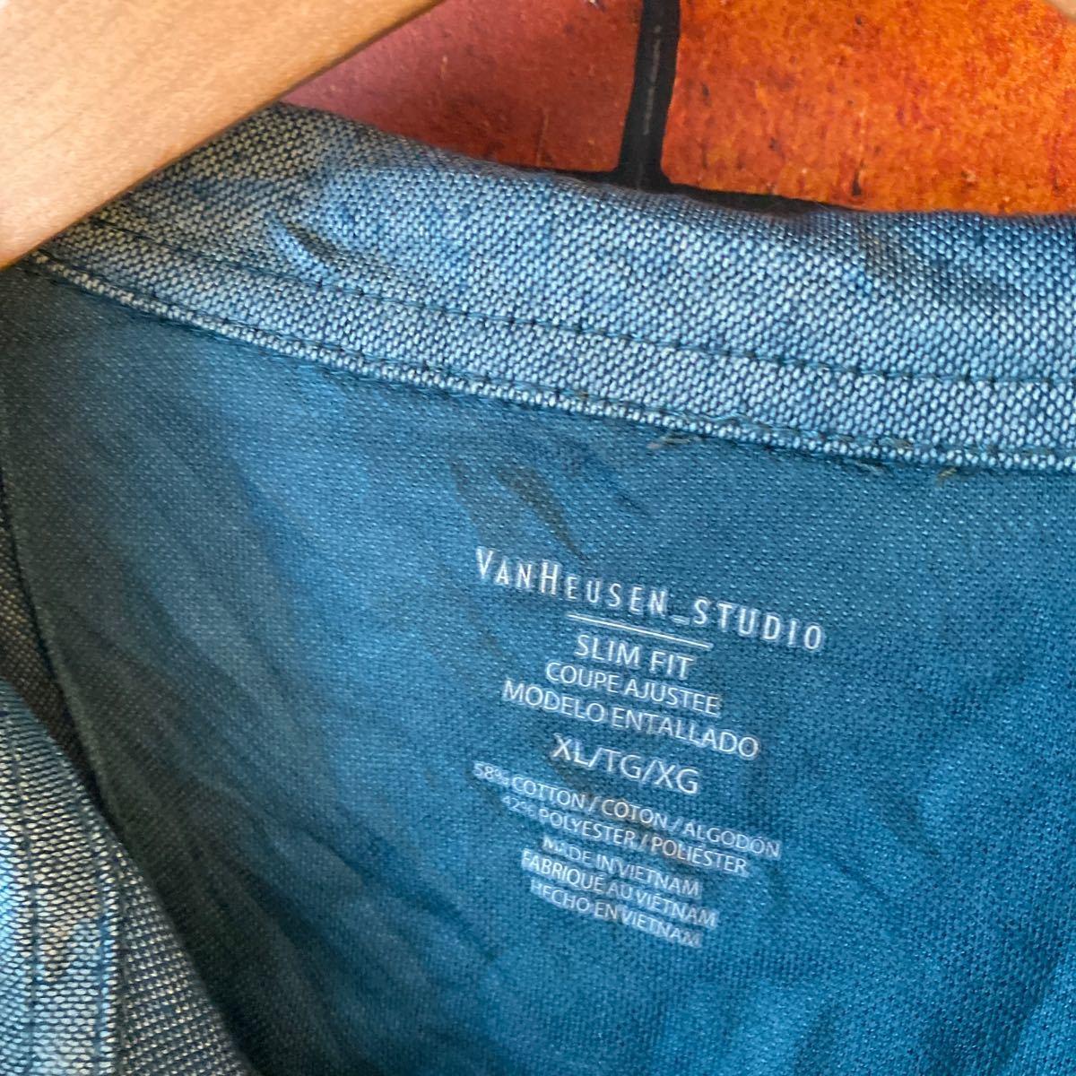 1円スタート ポロシャツ クールビズ まとめ売り 大量セット 6枚セット ワーク スタッフ アメリカ古着 XL _画像2