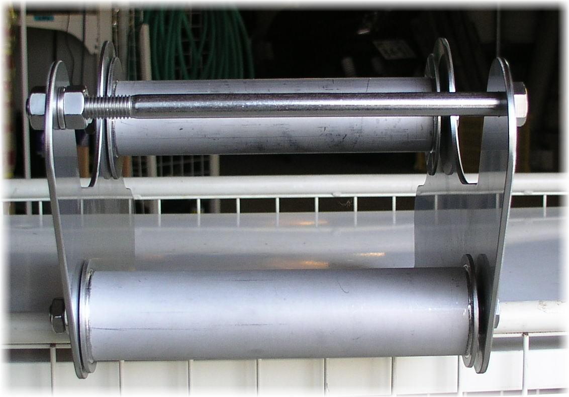 「新型アンカーデービットONK-1 NKタイプ オールステンレス アンカーローラー 砲金ブッシュ入 回転滑らか 格安送料」の画像3
