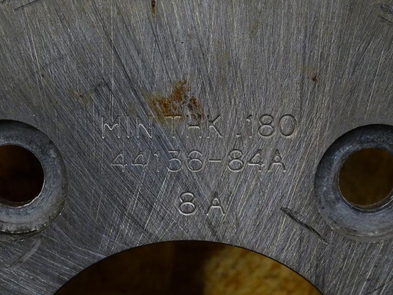 【200819】FLHTP1340 '88■ フロントブレーキディスク左右セット 【ハーレー ウルトラ エボ_画像3