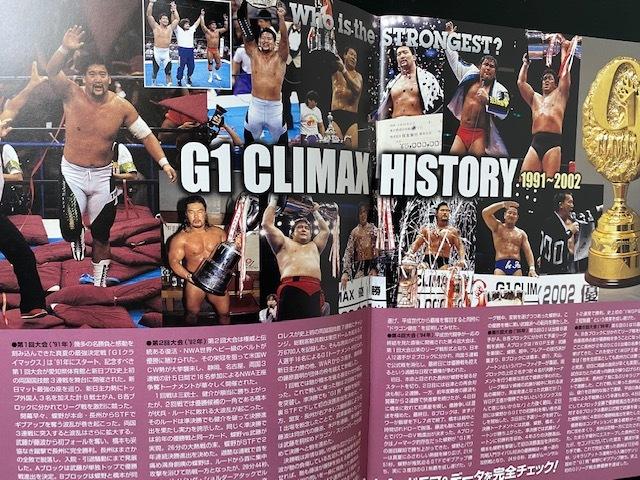 新日本プロレス 2003年8月 G1クライマックス 両国 パンフレット 蝶野、高山、秋山、天山、永田、棚橋、中邑_画像6