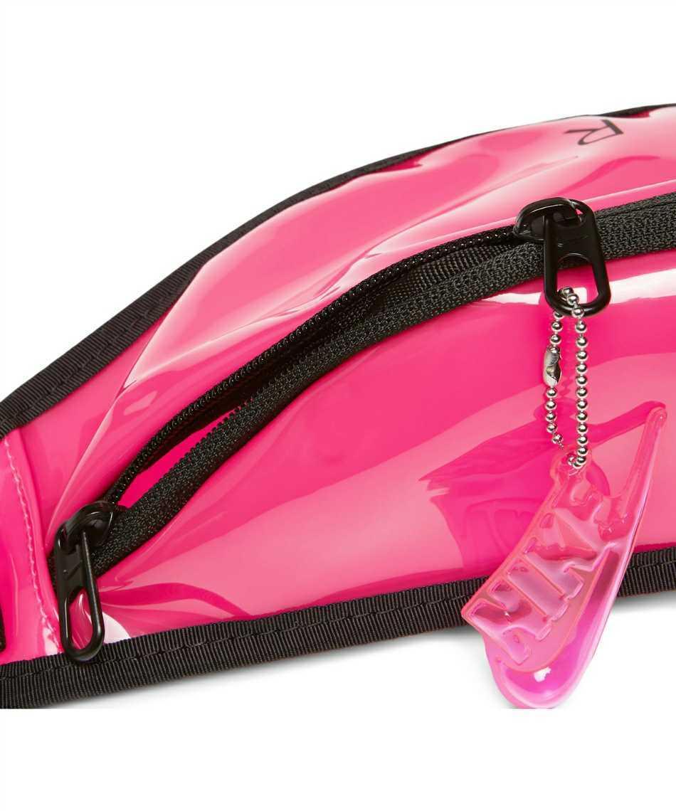 新品3850円 ナイキ NIKE ウエストバッグ ヘリテージ ファニー パック CW9259-607 ボディバッグ ショルダーバッグ ウエストポーチ ピンク 黒