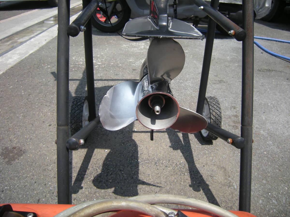「マーキュリー シープロ10馬力(2ストローク)」の画像2