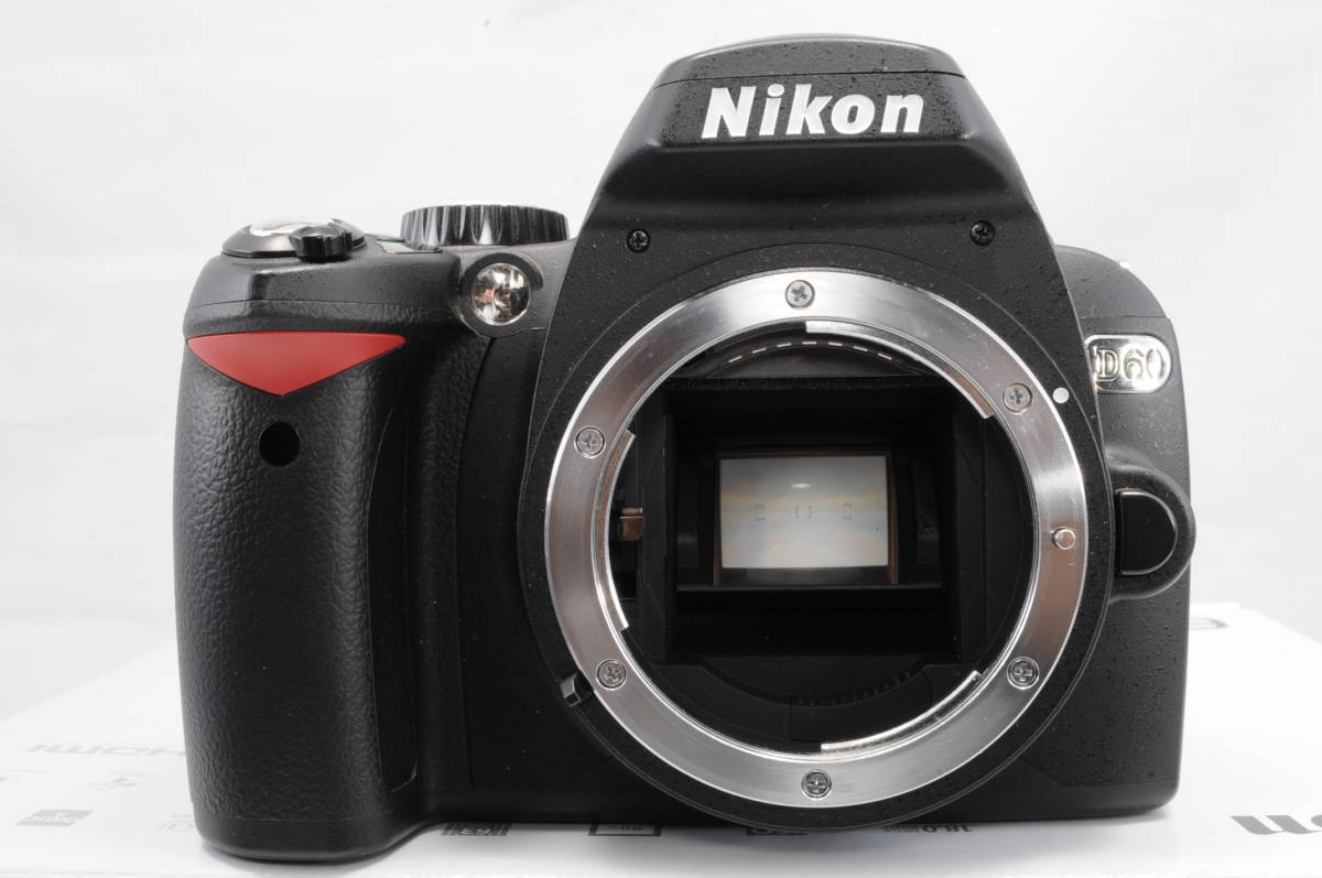 ショット極小 NIKON ニコン D60 レンズ 18-200 3.5-5.6 VR_画像2