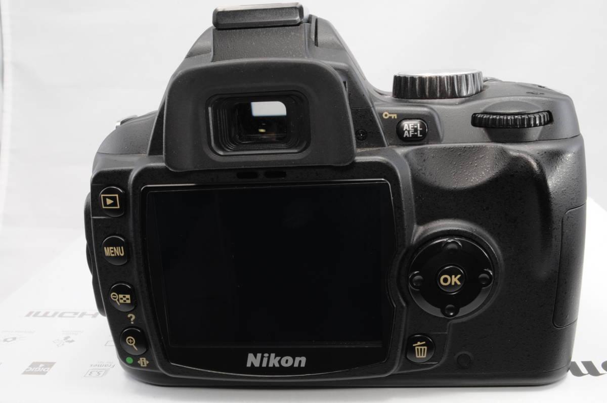 ショット極小 NIKON ニコン D60 レンズ 18-200 3.5-5.6 VR_画像3