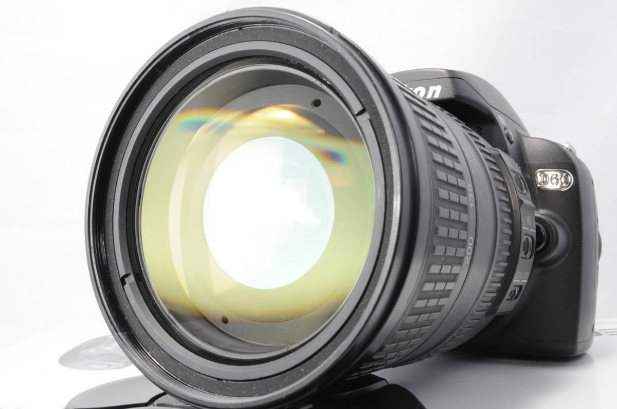 ショット極小 NIKON ニコン D60 レンズ 18-200 3.5-5.6 VR_画像4