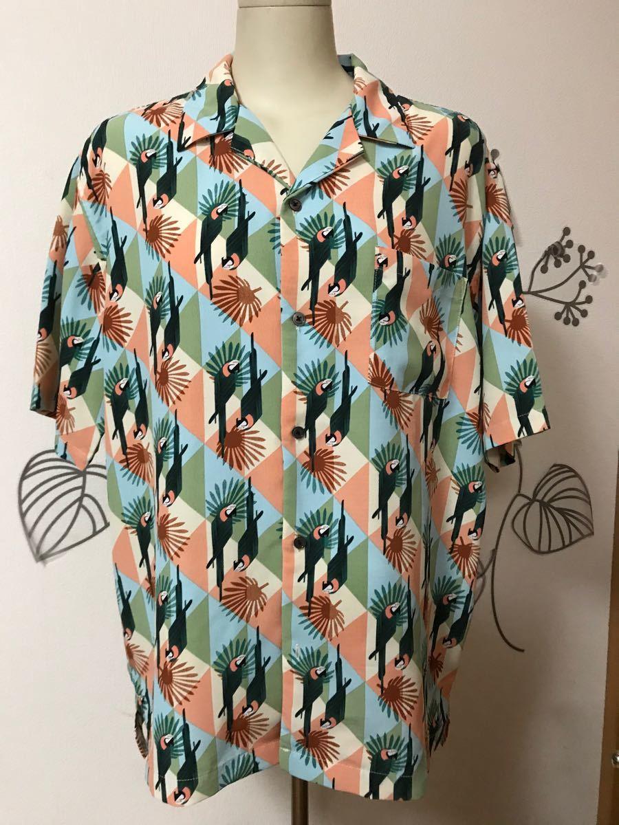 メンズアロハシャツ  半袖シャツ
