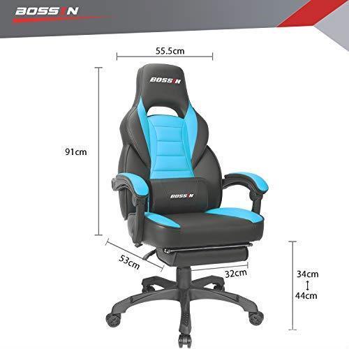 送料無料 VITESSEゲーミングチェア レーシングチェア ゲームチェア ゲーム用椅子 パソコンチェア オフィスチェア PCチェア デスクチェア_画像4