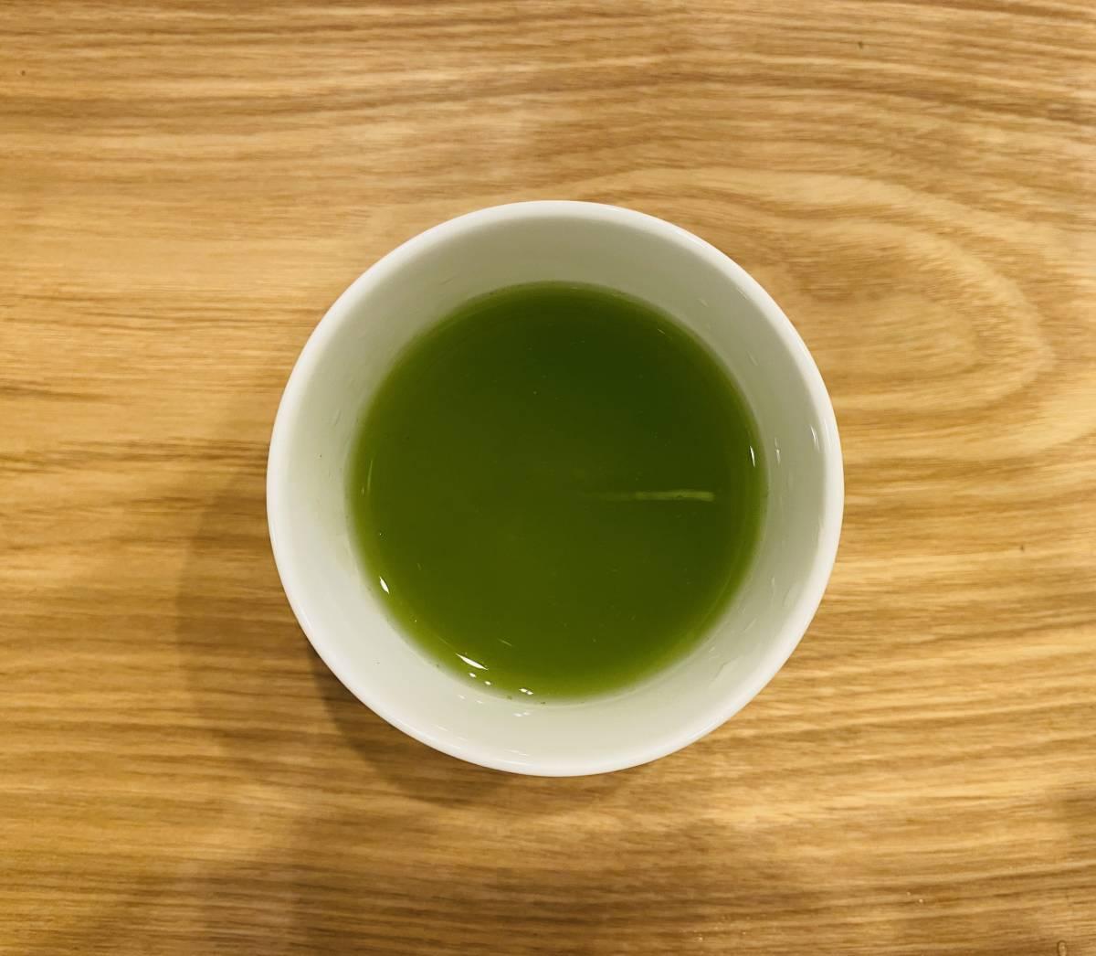 深いコクと旨み 深蒸し煎茶 あさつゆ 鹿児島 知覧産_画像2