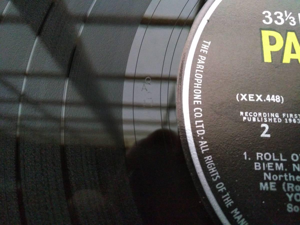 BEATLES 英国 ★WITH THE BEATLES★ UK ORIG 激レアPYEプレス 超入手困難 MONO 綺麗_画像2