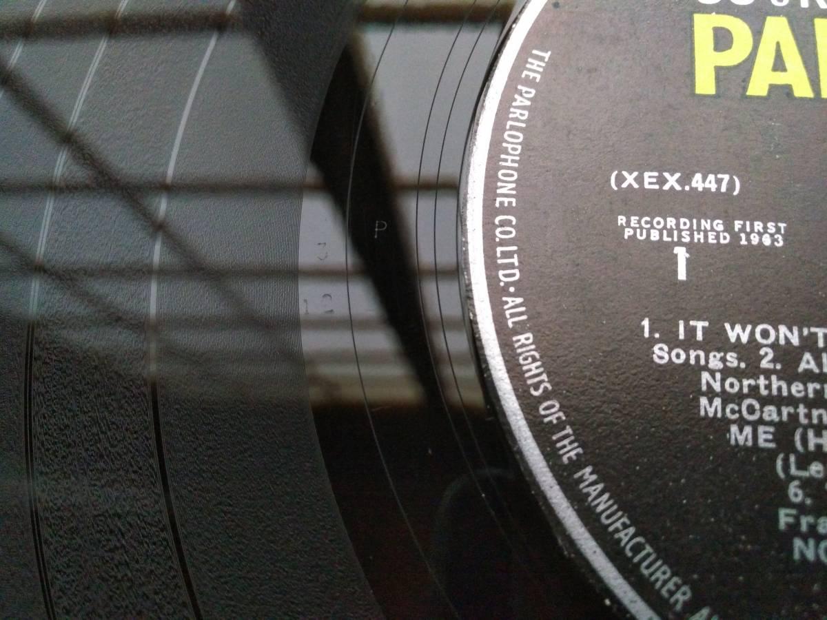 BEATLES 英国 ★WITH THE BEATLES★ UK ORIG 激レアPYEプレス 超入手困難 MONO 綺麗_画像3