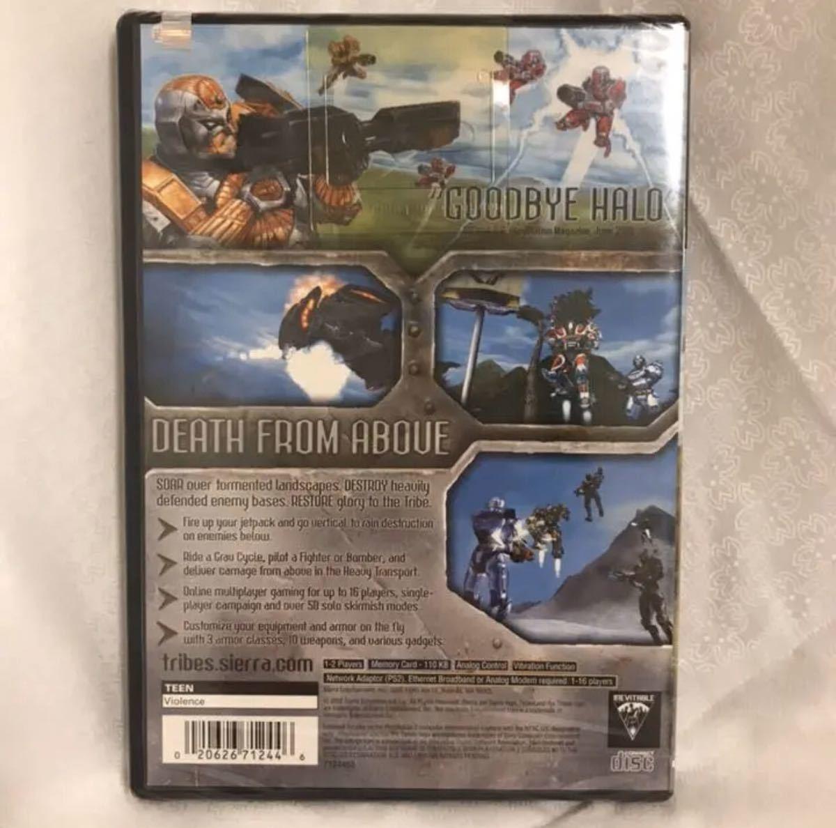 新品 プレイステーション2 tribes PlayStation2 輸入 海外版 プレステ2 ゲームソフト 英語版