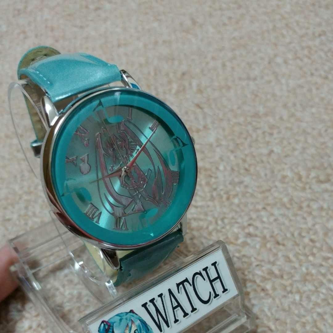 初音ミクの腕時計