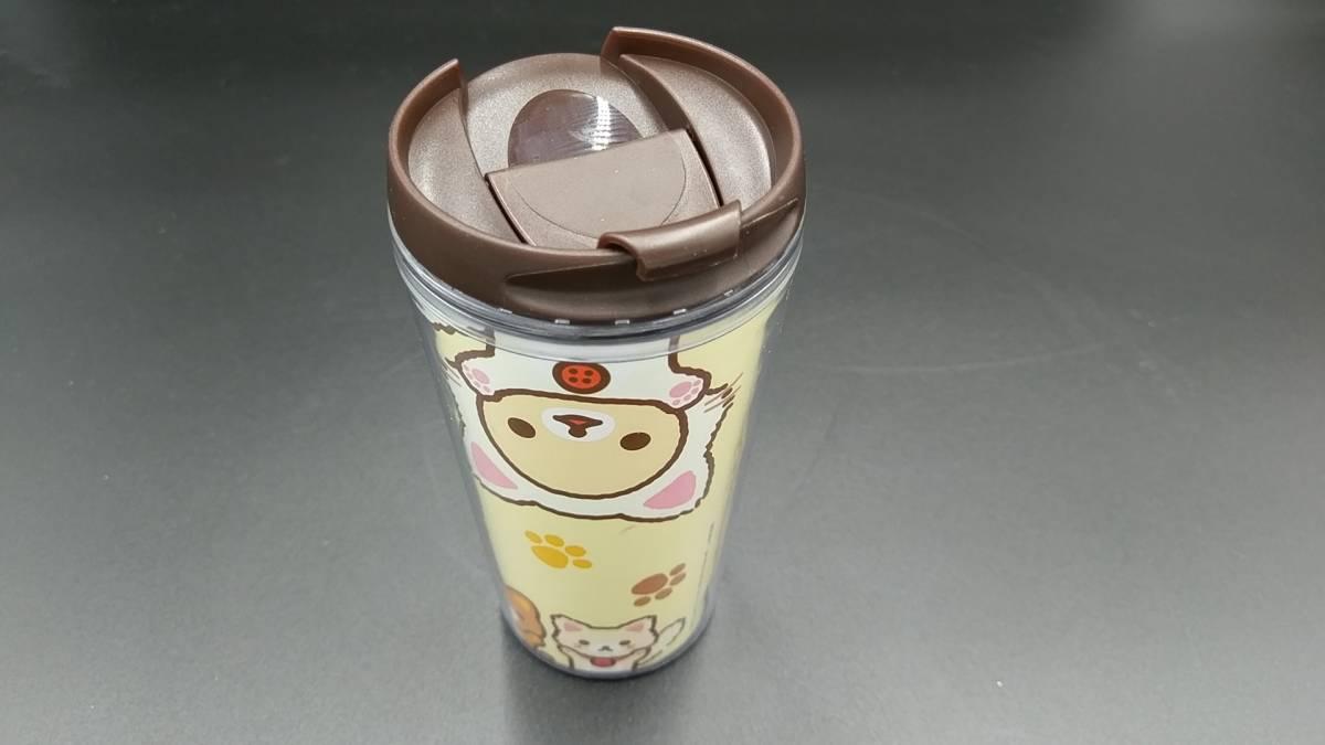 【まとめ売り】 「リラックマ」 タンブラー マグカップ&プレート ガラス小鉢&グラスセット グラス 計8点セット_画像8