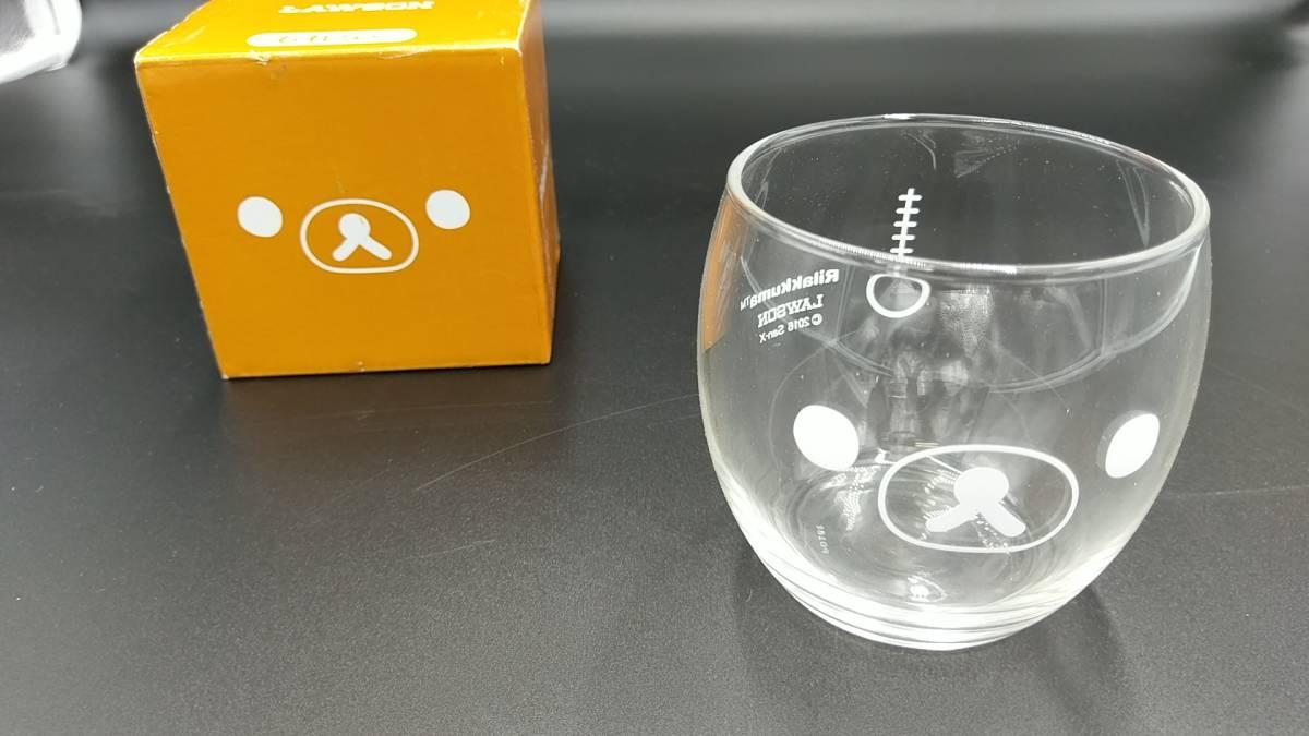 【まとめ売り】 「リラックマ」 タンブラー マグカップ&プレート ガラス小鉢&グラスセット グラス 計8点セット_画像3