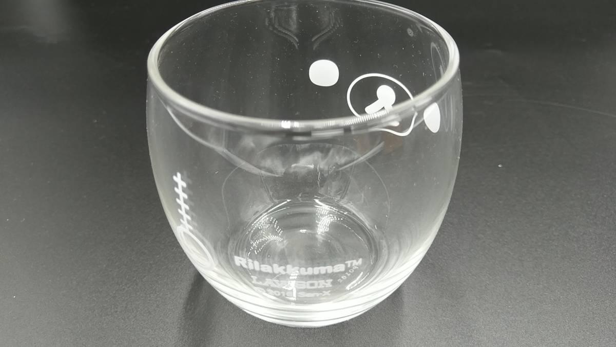 【まとめ売り】 「リラックマ」 タンブラー マグカップ&プレート ガラス小鉢&グラスセット グラス 計8点セット_画像4