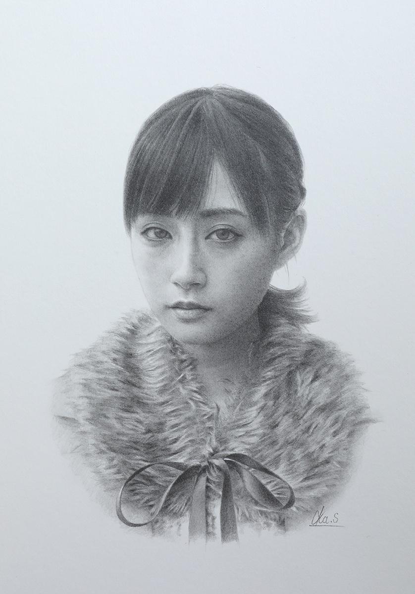 ★新作◆岡靖知 「ドローイング作品#18」_画像1