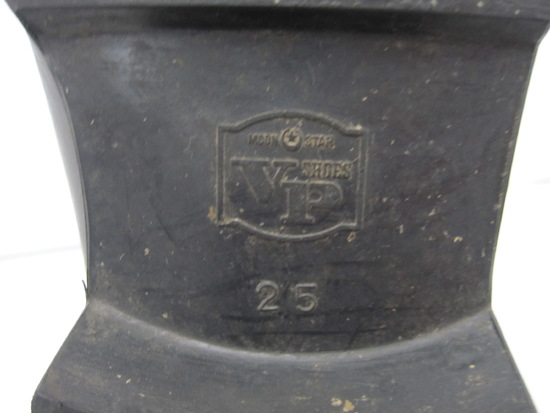 陸上自衛隊 戦闘靴 装甲用 25㎝ 桜マーク 1998年度 月星化成 K.K ムーンスター _画像9