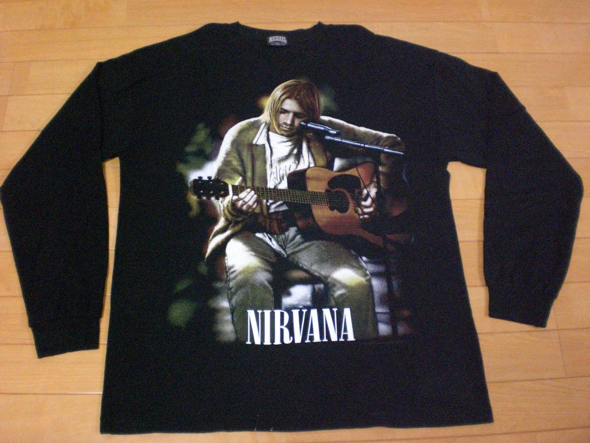 当時物 ビンテージ 90s NIRVANA ニルヴァーナ Tシャツ BEASTIE BOYS GUNS N ROSES METALLICA KISS ALICE IN CHAINS TAD MELVINS PARL JAM_画像1