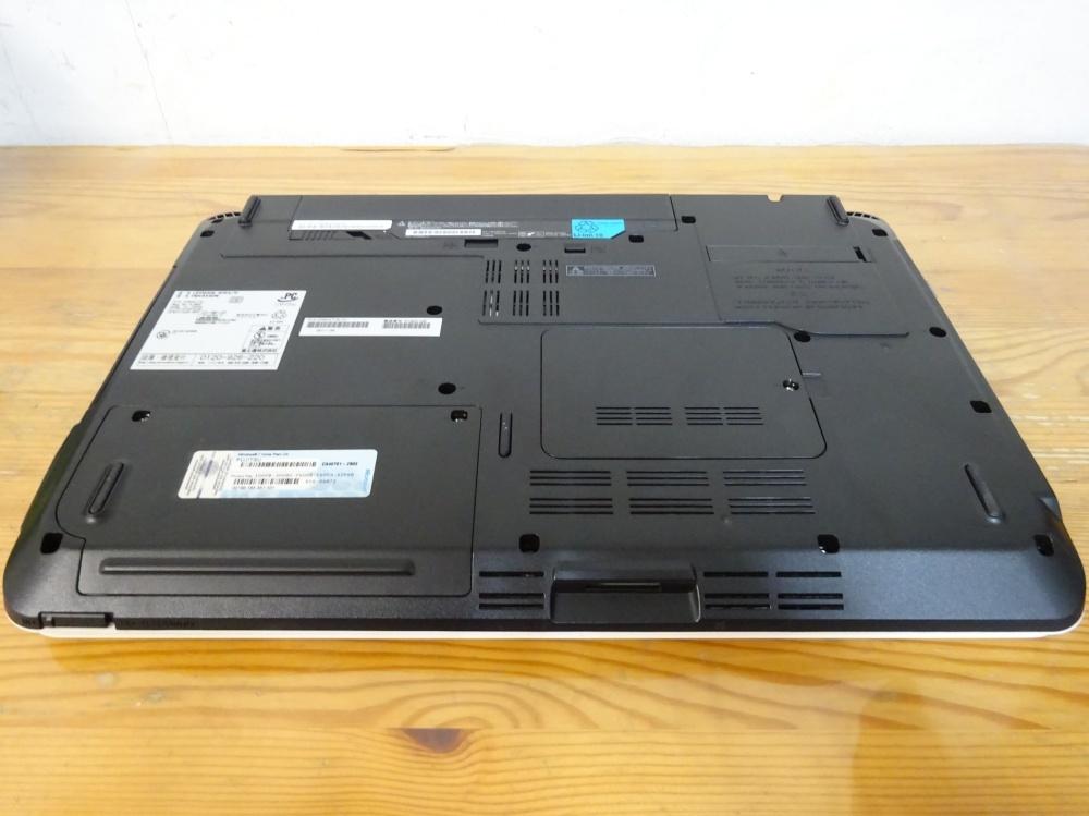 富士通 ノートパソコン LIFEBOOK AH54/D/Core i3-2310M 2.1GHz/4GB/320GB/良品 _画像5