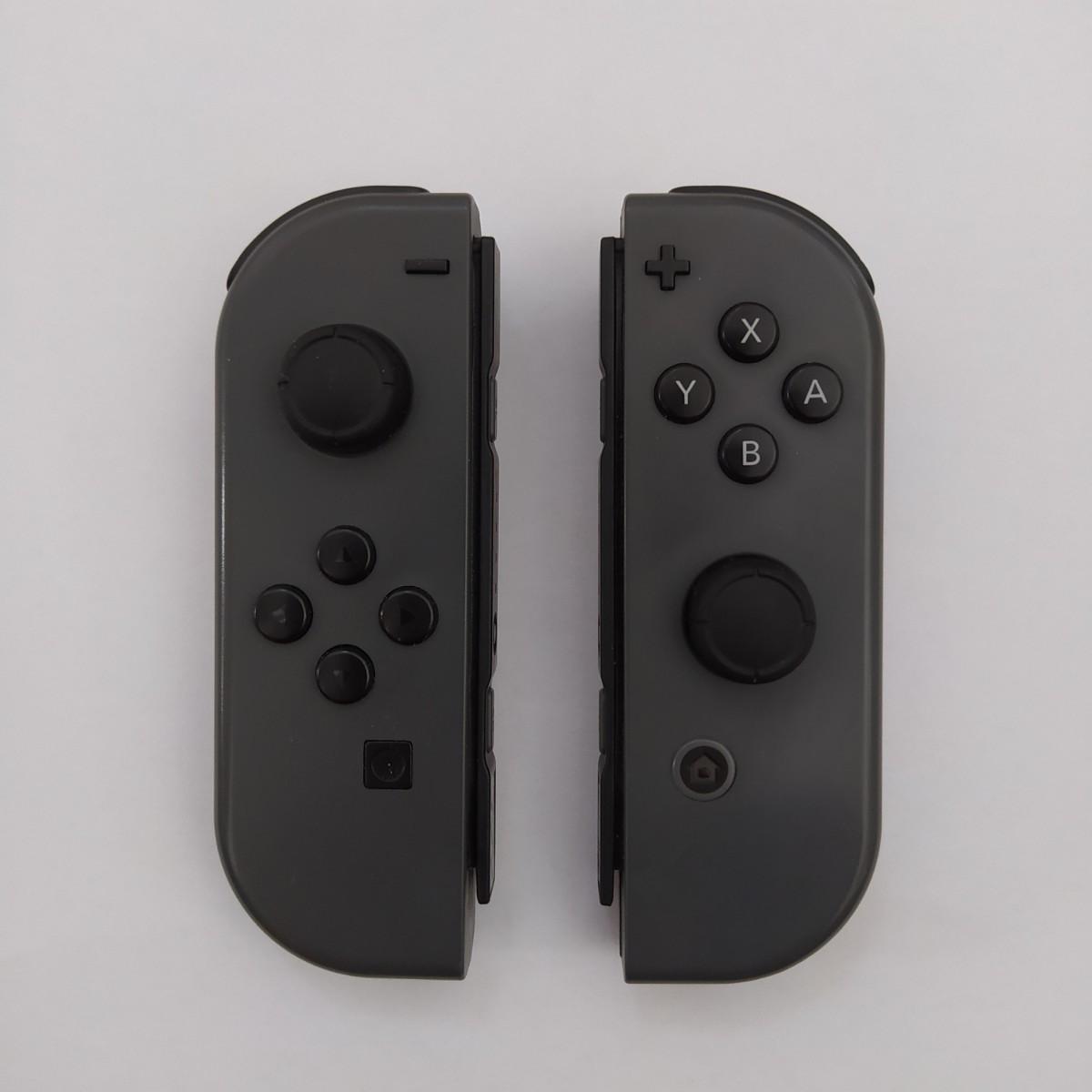 Nintendo Switch ジョイコン Joy-Con グレー