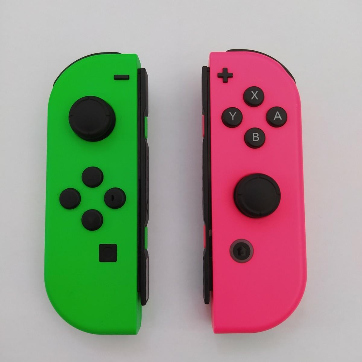 Nintendo Switch Joy-Con ジョイコン グリーン ピンク