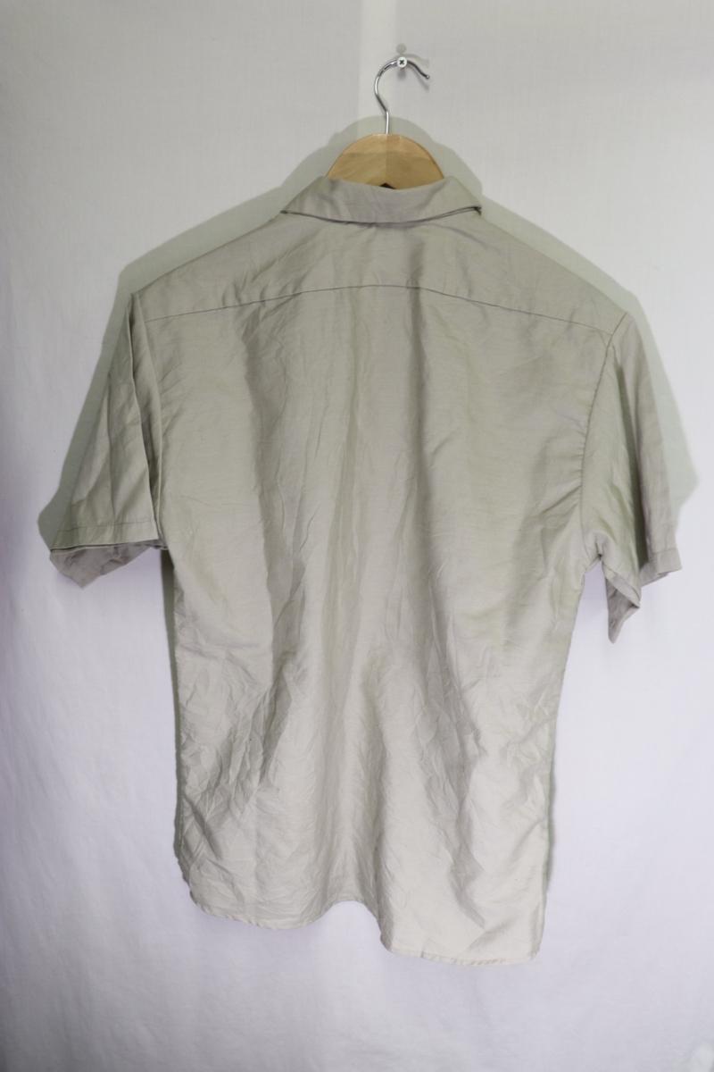 【メンズ】TRUGREEN半袖ワークシャツUSA古着アメカジデザイン良いM_画像5