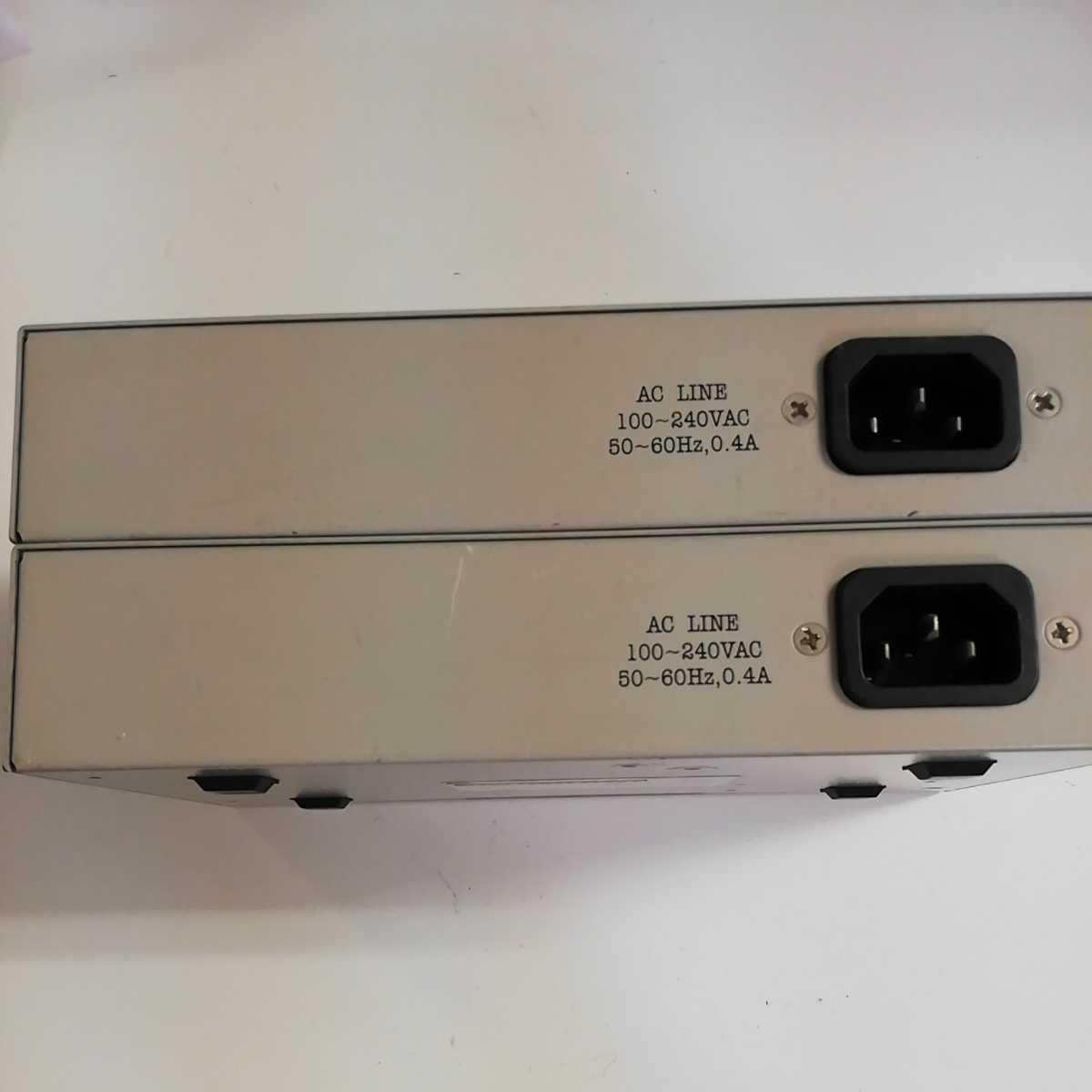 BUFFALO スイッチングハブ 8ポート 2個セット
