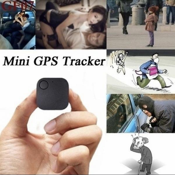 GPS トラッカー 【黒】 浮気調査 追跡 子供 ペット 忘れ物発見器 送料無料 匿名即日発送_画像2