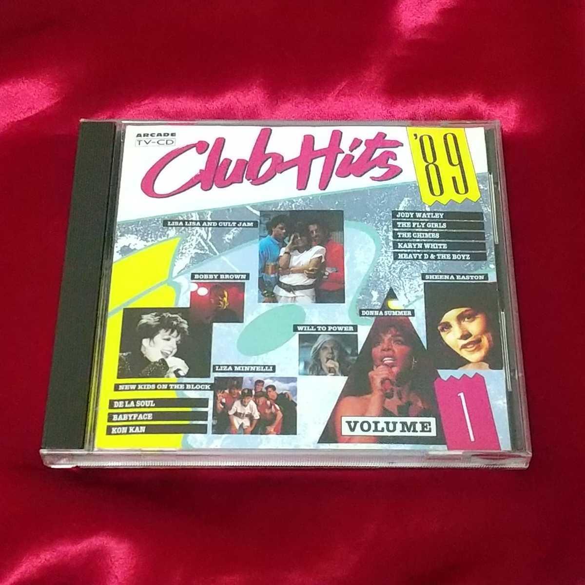 《オムニバス》CLUB HITS '89 VOLUME 1☆レンタル落ちCD・送料無料