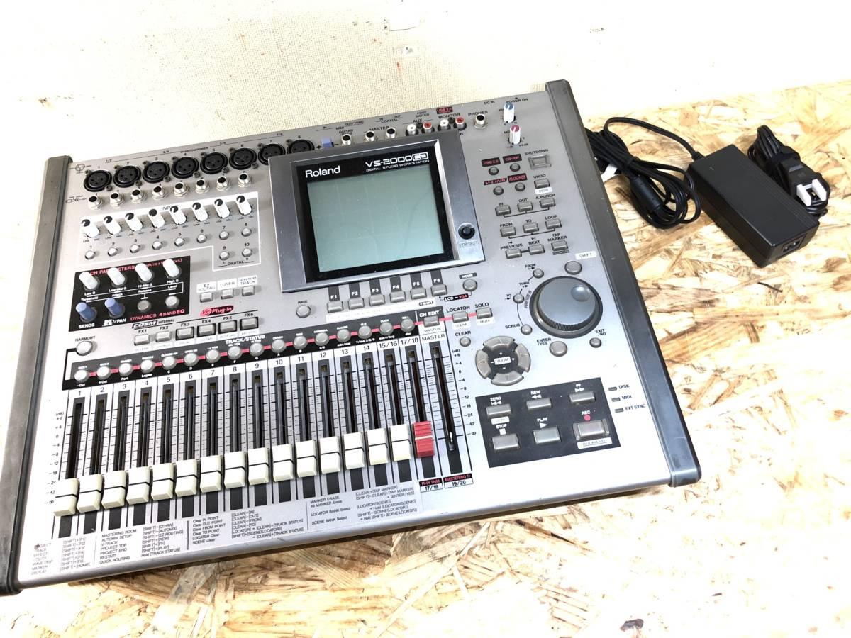 * Roland VS-2000 CD MTR ローランド マルチトラックレコーダー