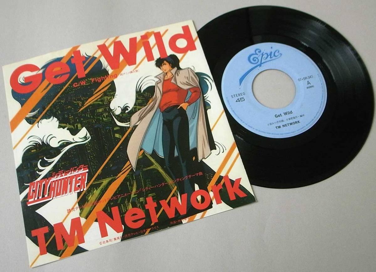 ☆日本盤☆EP【Get Wild/TM Network】作曲 小室哲哉