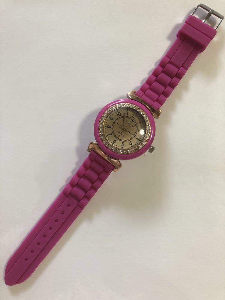 女の子 ガール レディース キュート シリコン腕時計 カジュアル おしゃれ 誕生日 プレゼント_画像2
