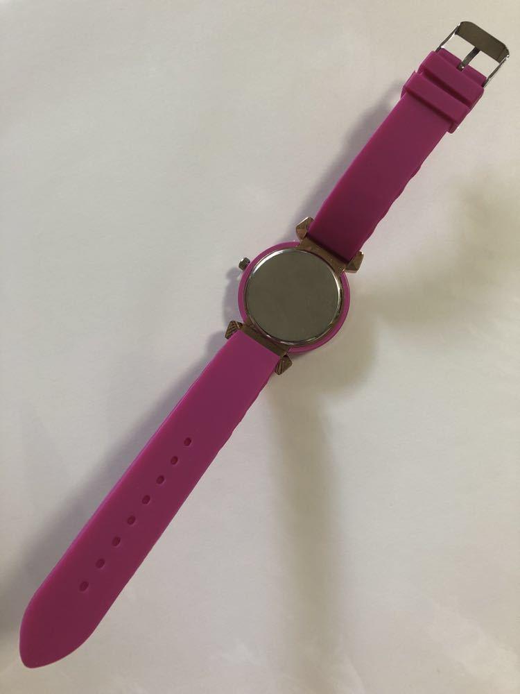女の子 ガール レディース キュート シリコン腕時計 カジュアル おしゃれ 誕生日 プレゼント_画像3
