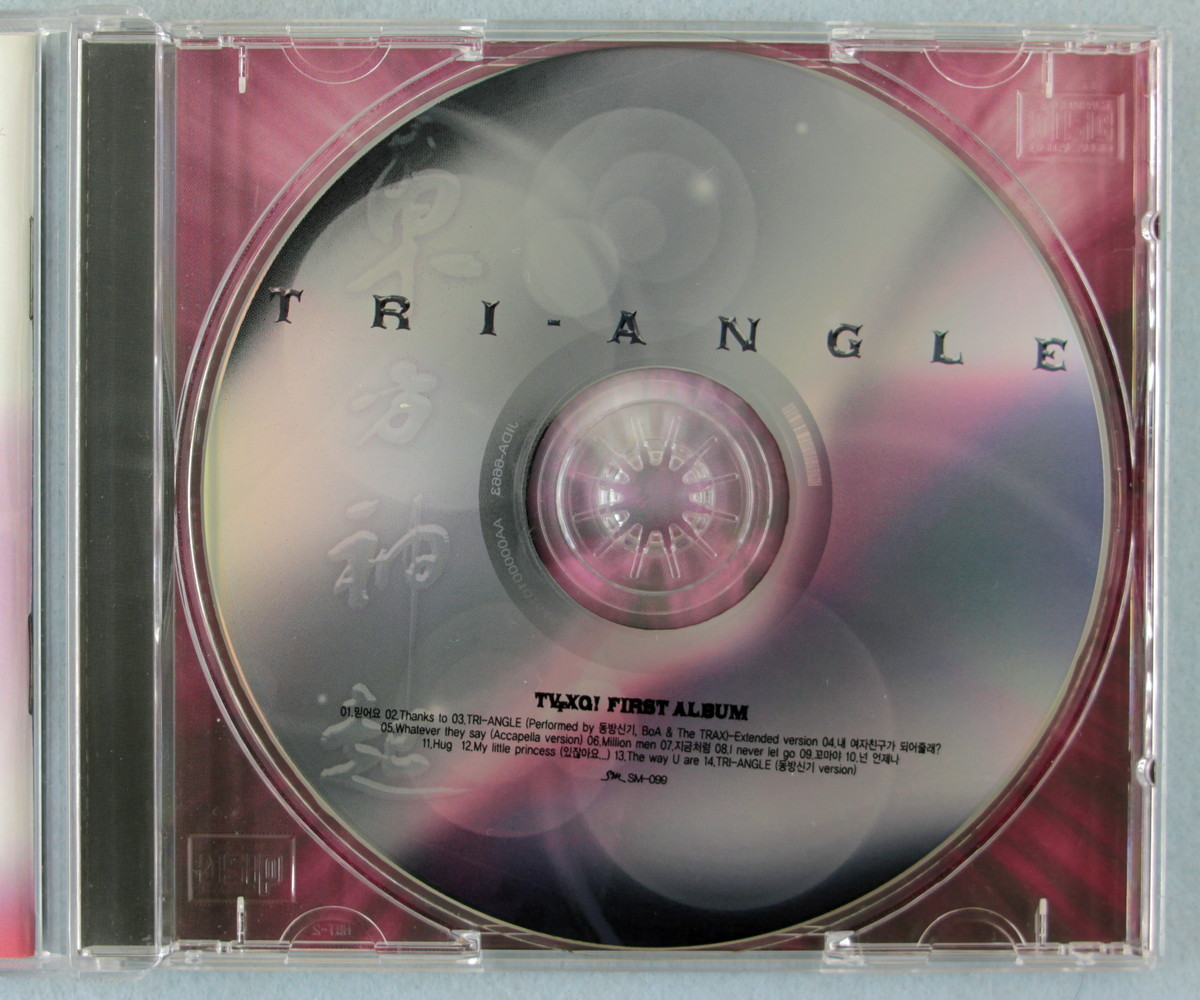 ka5] 東方神起 / TRI-ANGLE - TVXQ! First Album [韓国盤]_画像4