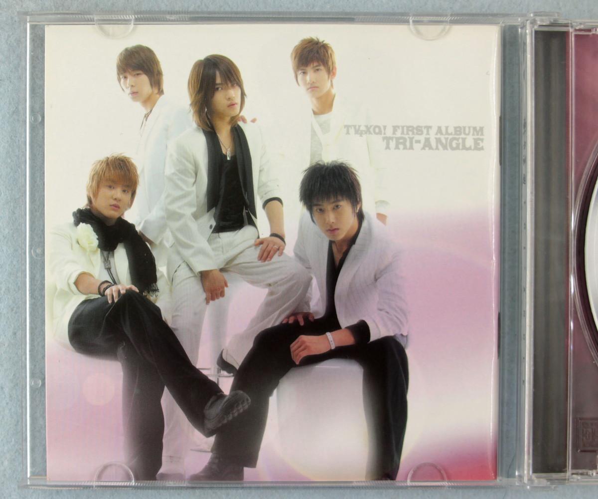 ka5] 東方神起 / TRI-ANGLE - TVXQ! First Album [韓国盤]_画像3