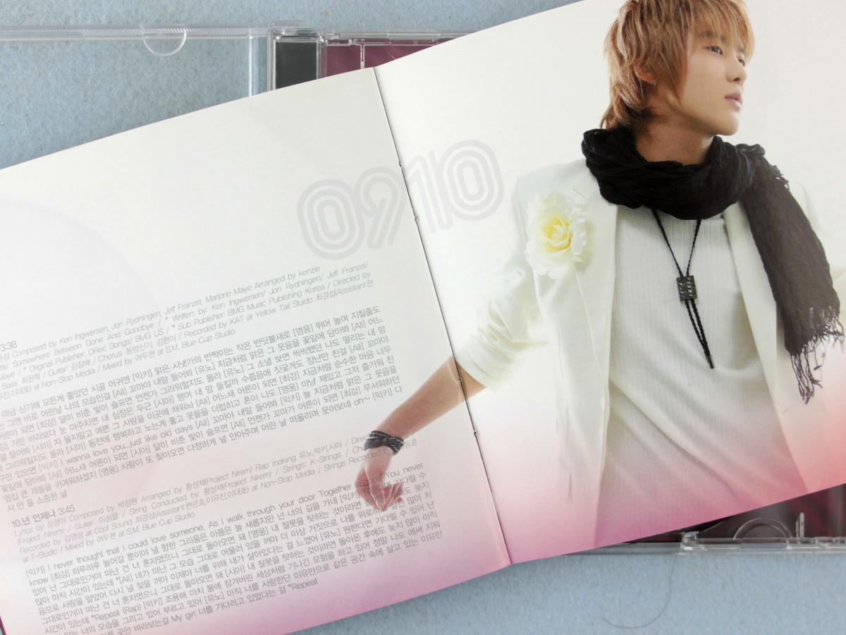 ka5] 東方神起 / TRI-ANGLE - TVXQ! First Album [韓国盤]_画像5