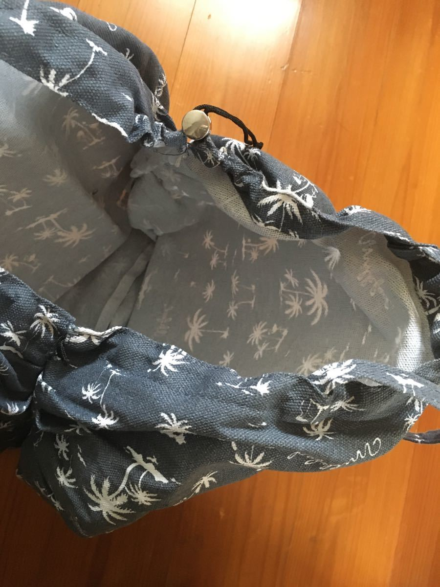 ミルクフェド ヤシの木柄 バッグ
