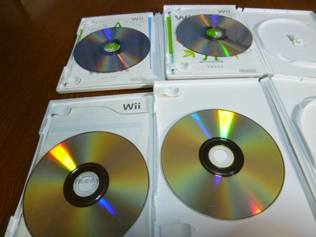 D2【送料無料】Wiiソフトセット Wiiフィット Wiiフィットプラス Wiiスポーツ マリオ&ソニック北京オリンピック(クリーニング動作確認済)