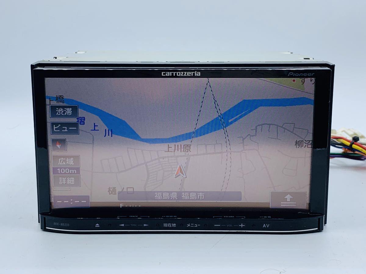カロッツェリア carrozzeria メモリーナビ AVIC-MRZ09地図データ2011年チェックok