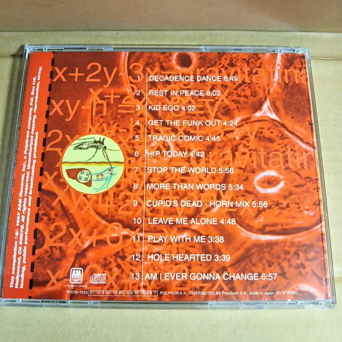中古CD EXTREME / エクストリーム『THE BEST OF EXTREME』国内盤/帯無し/難有り POCM-1233【1140】