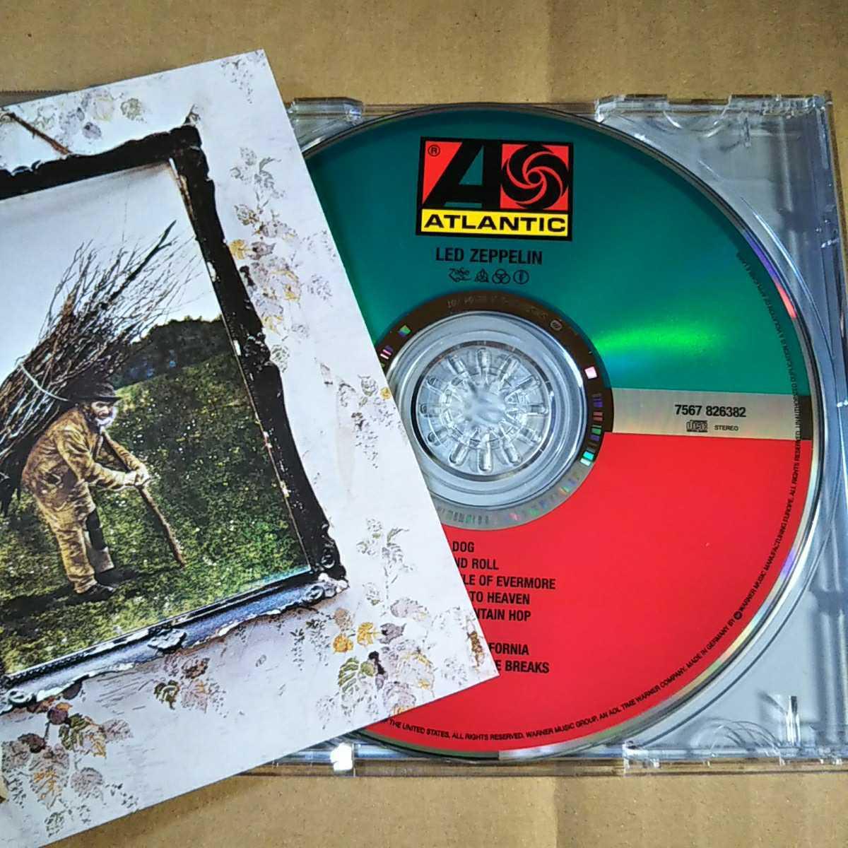 中古CD LED ZEPPELIN / レッド・ツェッペリン4 輸入盤【1331】