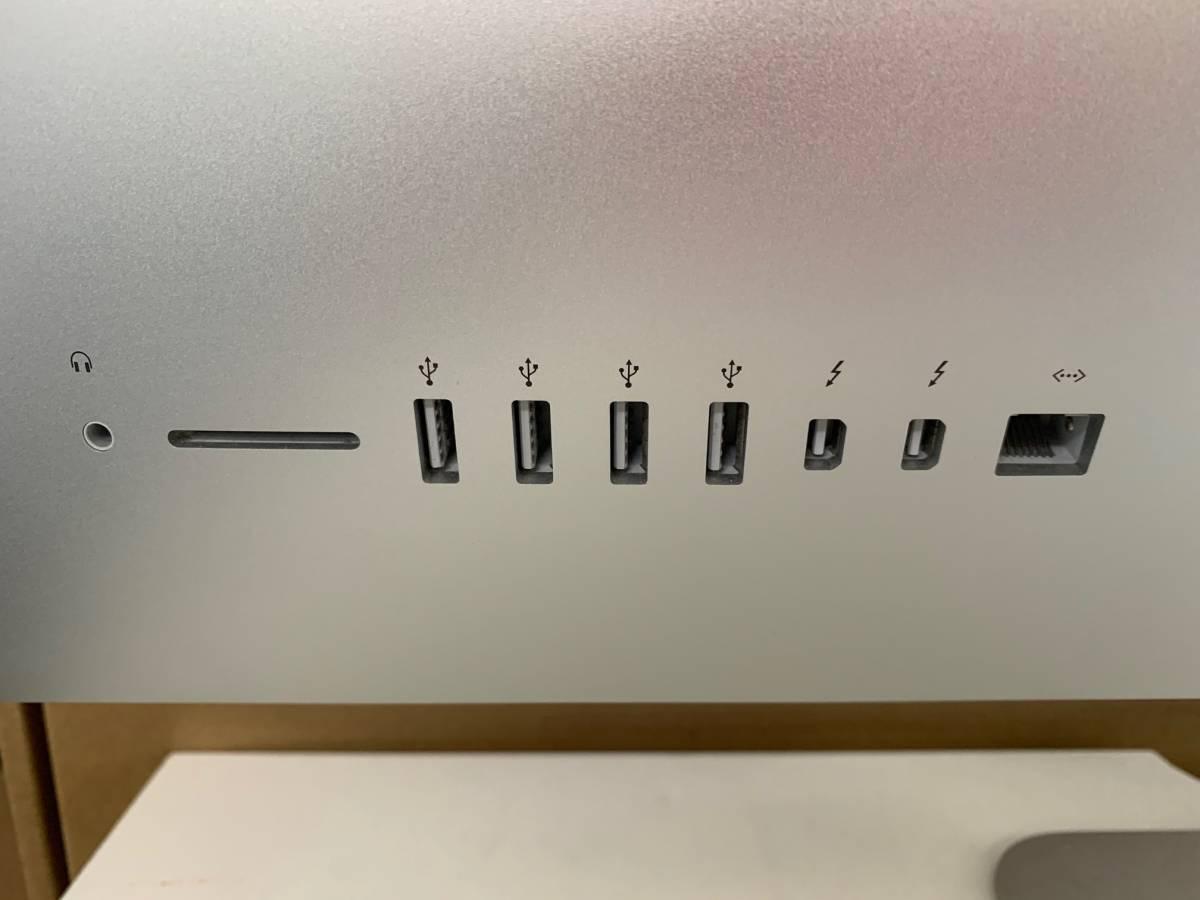 179 メモリ増設 Apple iMac Late2015 5K 27インチ MK472J/A CPU Core i5 3.2GHz メモリ 16GB ストレージ 1TB Fusion Drive 中古_画像3