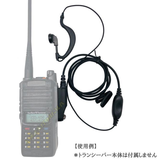 過激飛びMAX-MT用 耳掛式・VOXハンズフリー機能対応 イヤホンマイク 新品_画像3